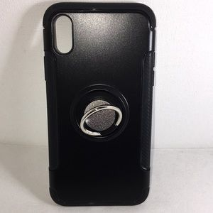 iPhone X or XS Ring Magnetic Hybrid Case